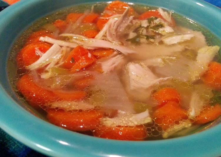 Grace Parisi Classic Chicken Soup