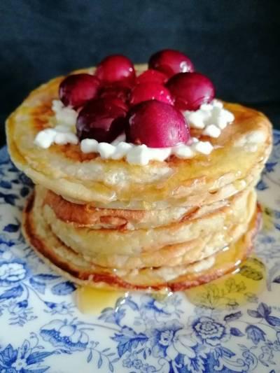 Receta de Pancakes de plátano