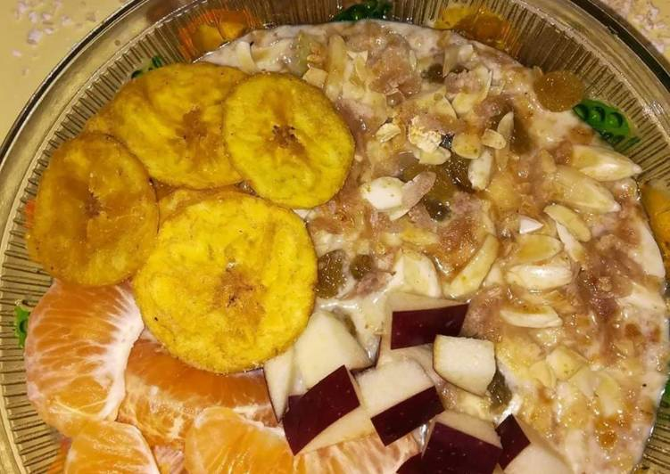 Muesli with oats