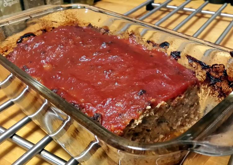 Spicy Turkey Meatloaf
