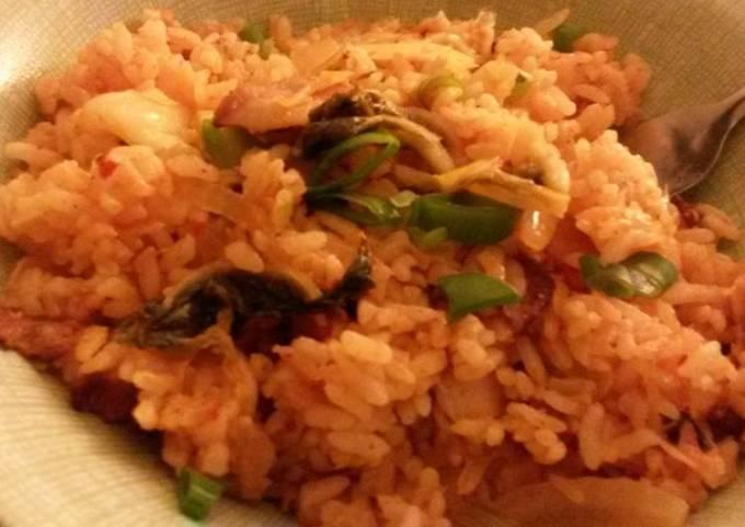 김치 볶음밥/kimchi fried rice