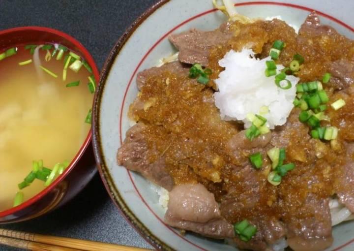 Refreshing Beef Steak Rice Bowl