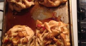 Pillsbury Crescent Roll Apple Pie