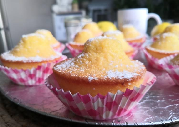 Madeleines Espagnoles au citron #Magdalenas al limon