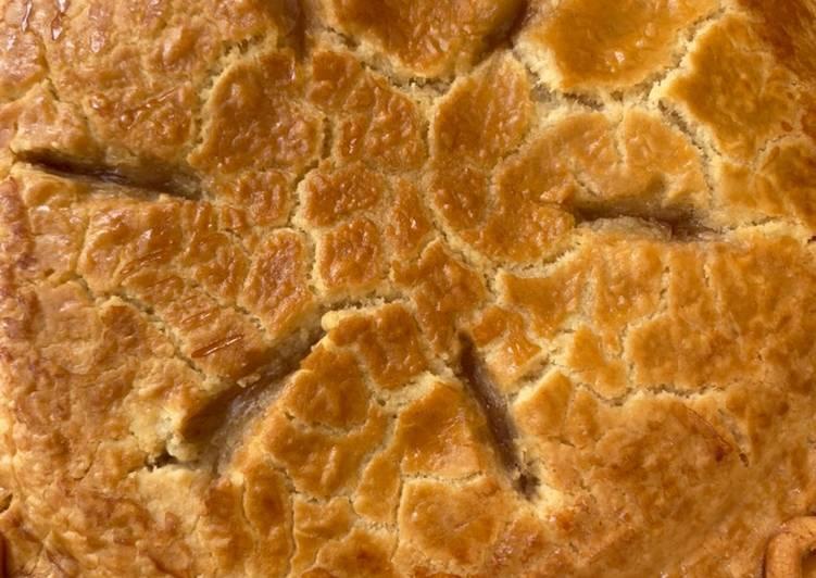 Smoked Apple Pie