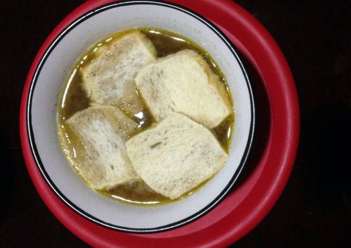 Pinoy-style Onion Soup