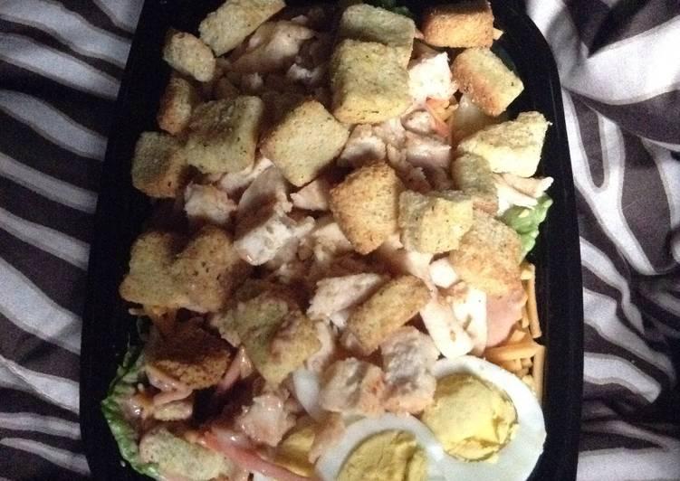 Spicy BBQ Ranch Chicken Salad
