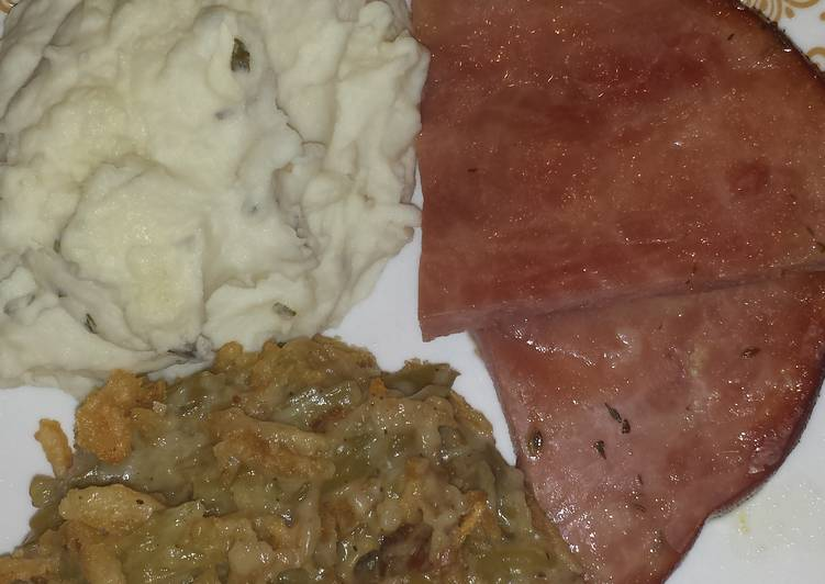 Glazed Honey Ham