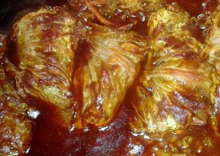 SHEREE'S ASIAN CABBAGE ROLLS