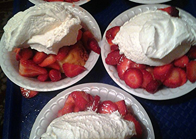 strawberry shortcake easy