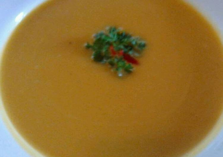 Ladybirds Pumpkin Soup