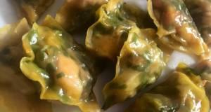 Dumpling isi ayam kucai
