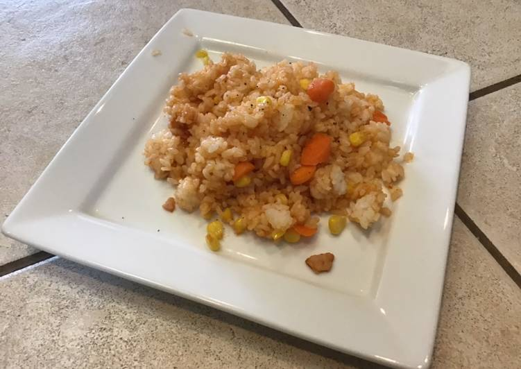 Fried Ketchup Rice
