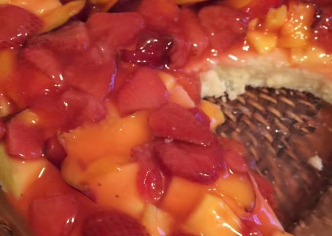 Semolina Fruit Cake