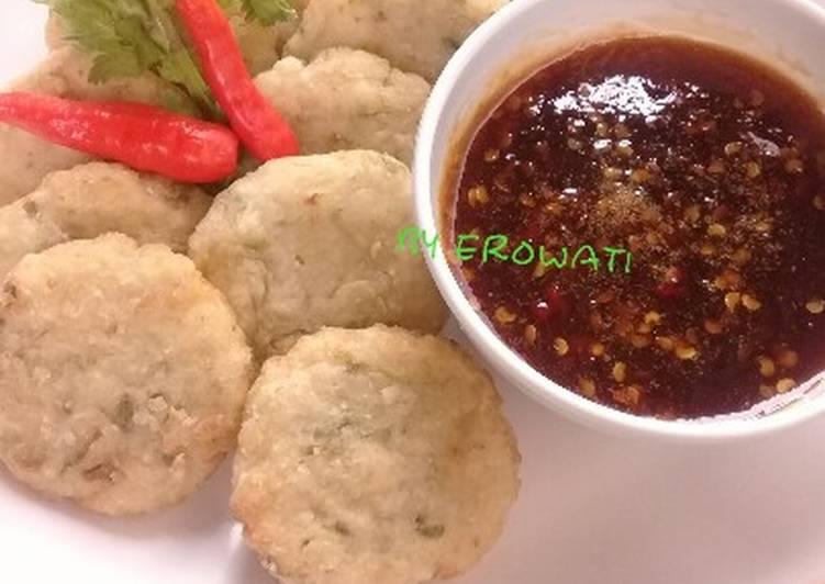 Cireng Nasi Sambel Rujak