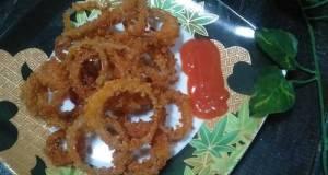 Onion ring krisfi
