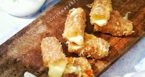 Keju Mozarella Stick Glutten Free tanpa telur kriuk