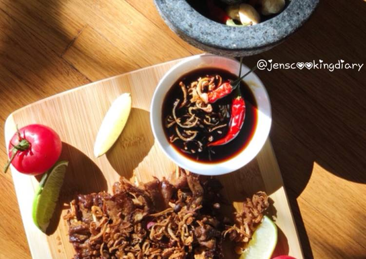 Oyster Mushrooms Satay