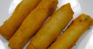 Mashed Potato Spring Rolls
