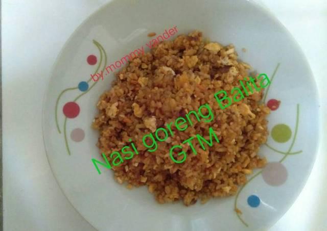 Nasi goreng anak GTM usia 23 bln
