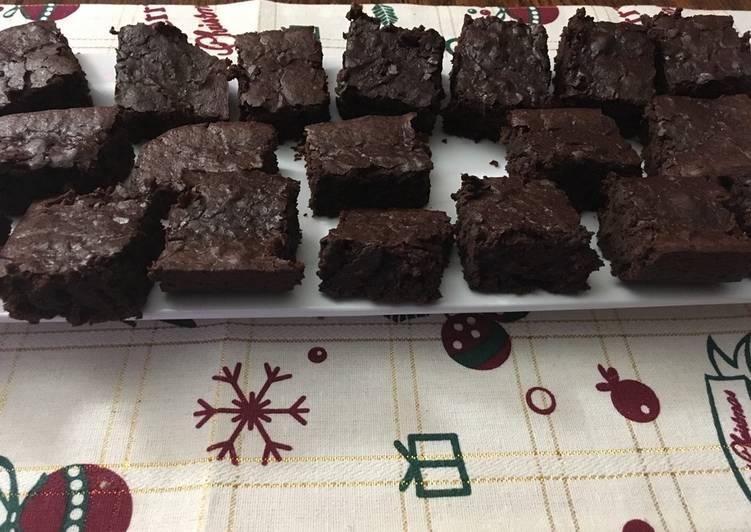 Black beans brownie's (only two ingredients) - Tyler's brownies