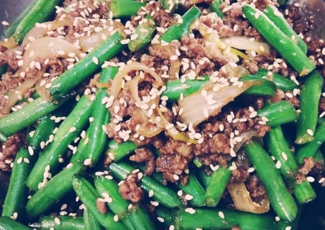 Daging cincang bulgogi + Sayur