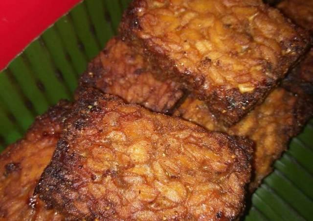Tempe Bacem air kelapa