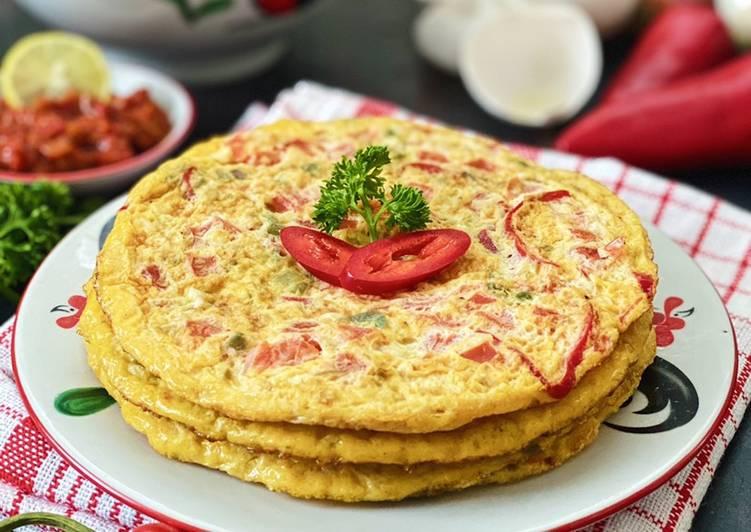 Telur Tomat (Egg Tomato Omelette)