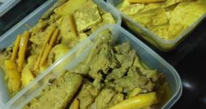 Ayam Ungkep / Ayam Goreng Kuning Lengkuas empuk wangi lezat