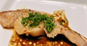 Pan-Fried Cod with Butter Soy Sauce