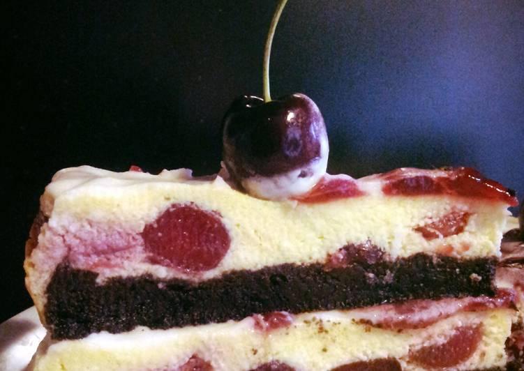 AMIEs Cherry Cheesecake