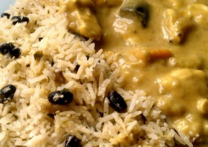 Vickys Jamaican-Style Coconut Mango Chicken Curry GF DF EF SF NF
