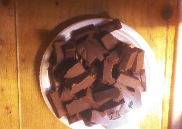 Easy five minute fudge. :-)