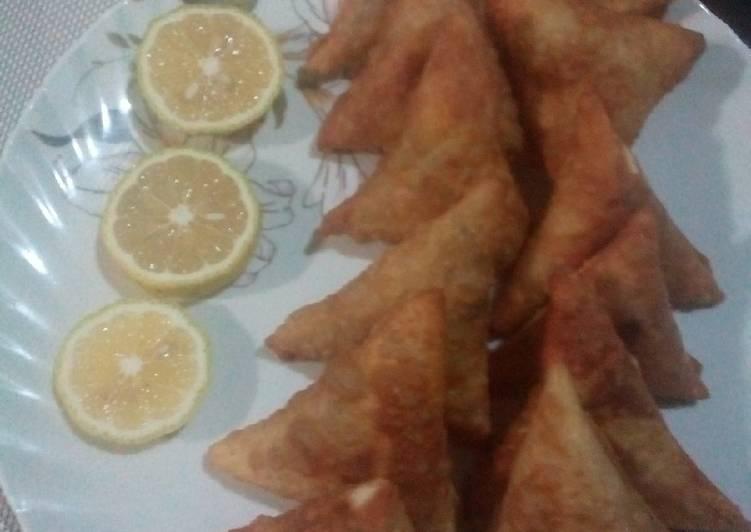 Beef Samosa#mums recipe