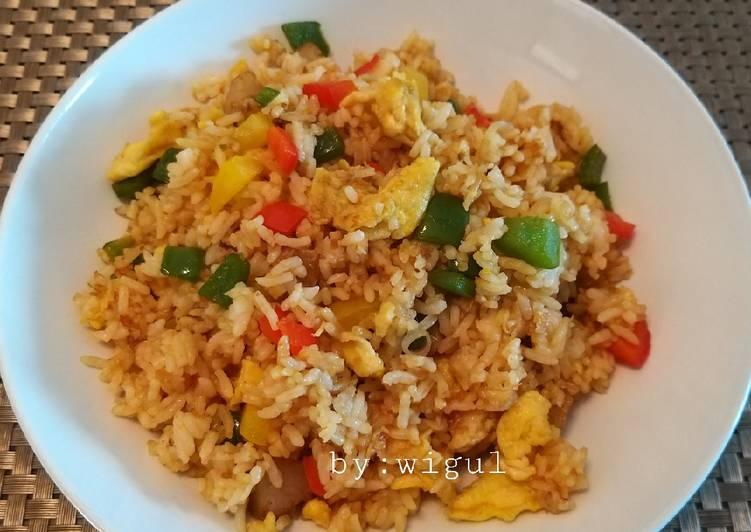 Nasi goreng rumahan special
