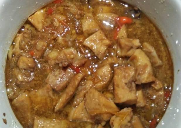 Oseng Ayam simple