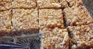 Caramel Apple Cheesecake Crumble Bars