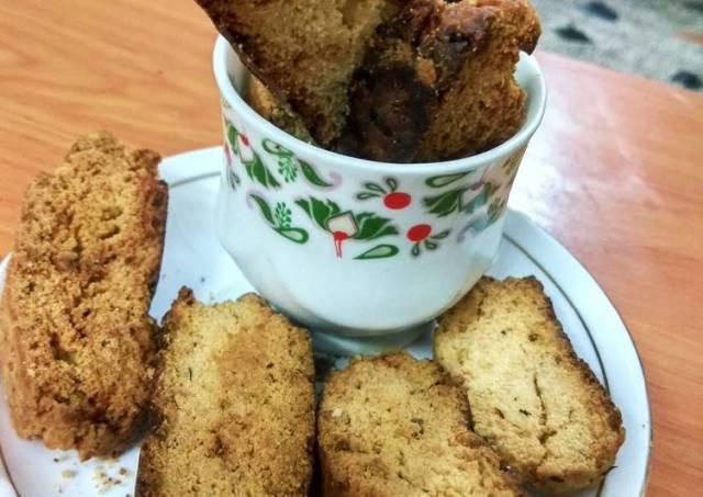 Cheesy Italian style biscotti