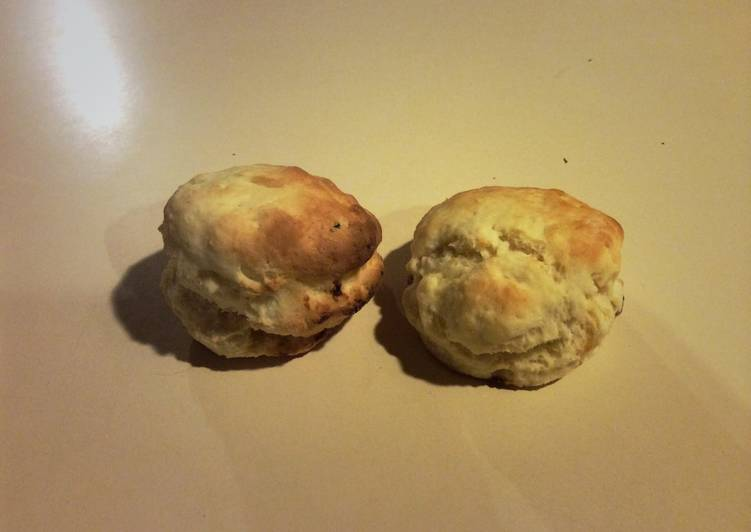 Nearly Dairy-free Scones