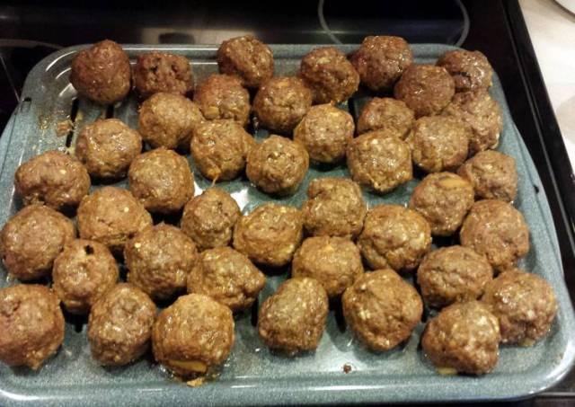 JR's italian meatballs