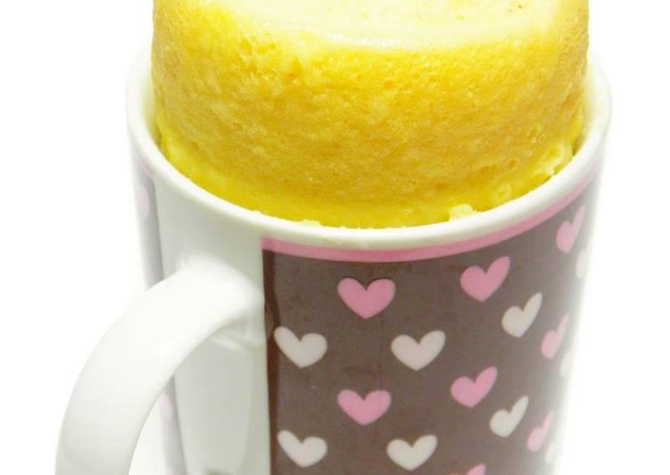 Rice Flour Mug Cup Cake