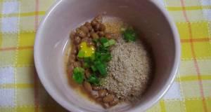 Sesame and Vinegar Natto