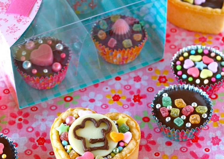 Soy Milk Chocolate Cups for Valentine's Day