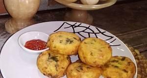 Omelette Kentang Wortel Cetakan Kue Lumpur