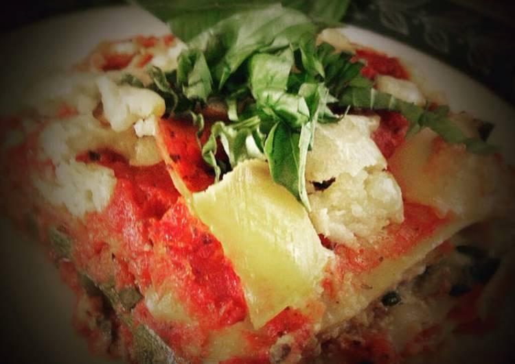 Dreamy Creamy Lasagna