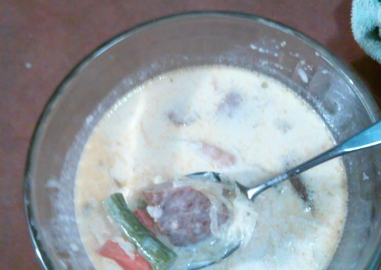 Soup de jour (leftovers lol)
