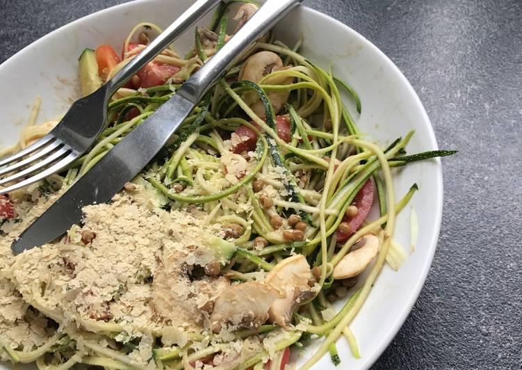 Vegan raw low calorie diner!