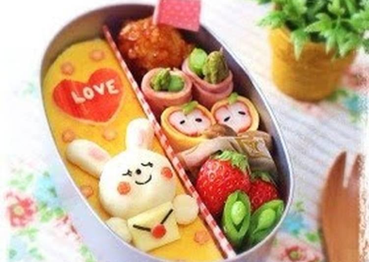 Valentine's Day Character Bento