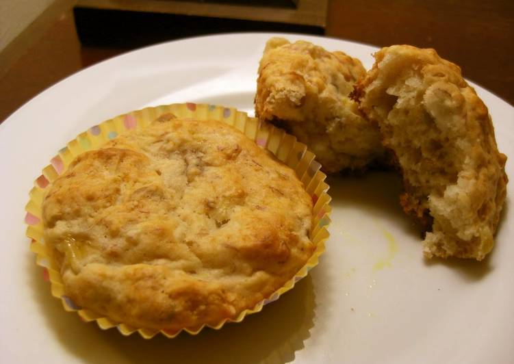Easy with Pancake Mix Honey Banana Muffins in 30 Minutes