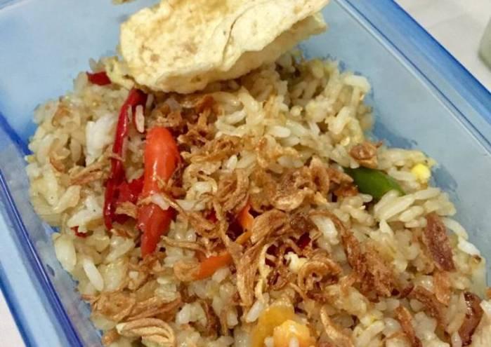 Resep Ide bekal kantor: Nasi goreng ala Restoran Cina